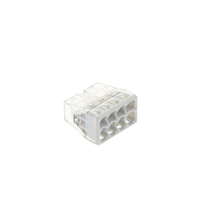 Клемма WAGO 2273-208 компактная 8-проводная сечением 2.5 мм, одножильный, набор 50 шт