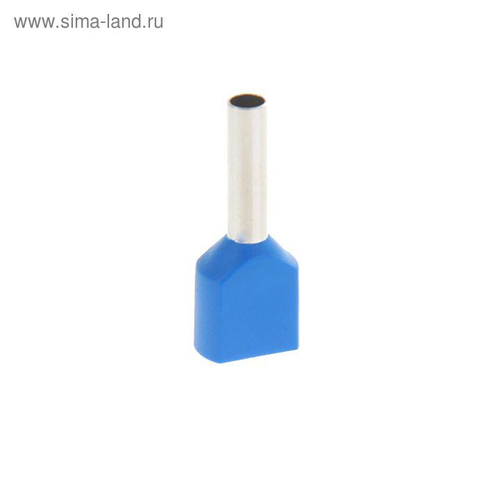 Набор наконечников втулочных под 2 провода сечением 2,5 мм, контакт 13 мм, НШВИ (2) (100шт)