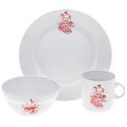 """Набор детской посуды """"Пираты"""", 3 предмета: тарелка 20 см, салатник 335 мл, кружка 210 мл, декор МИКС"""