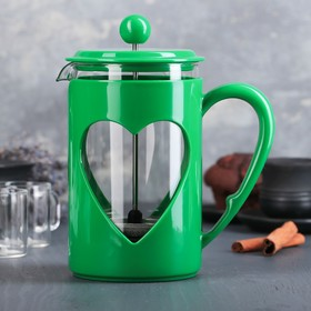 """The plunger 800 ml """"Compliment"""", color green"""