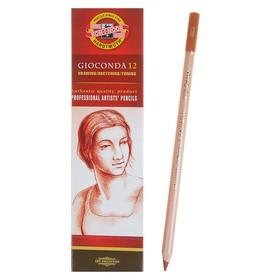 Сепия Koh-I-Noor GIOCONDA 8802, в карандаше, коричнево-красная, лаковый корпус