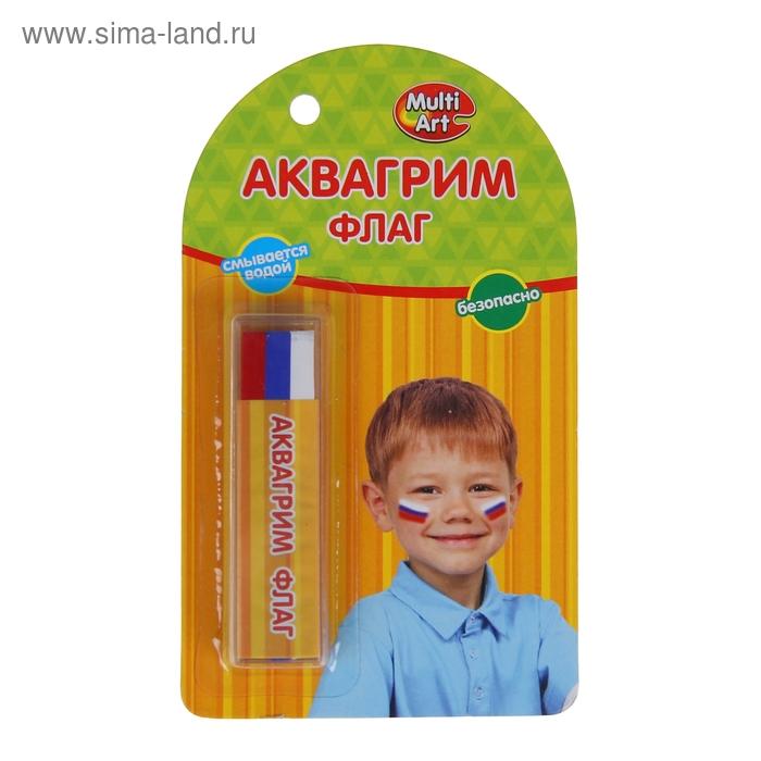 """Аквагрим мелки """"Флаг"""", 3 цвета"""