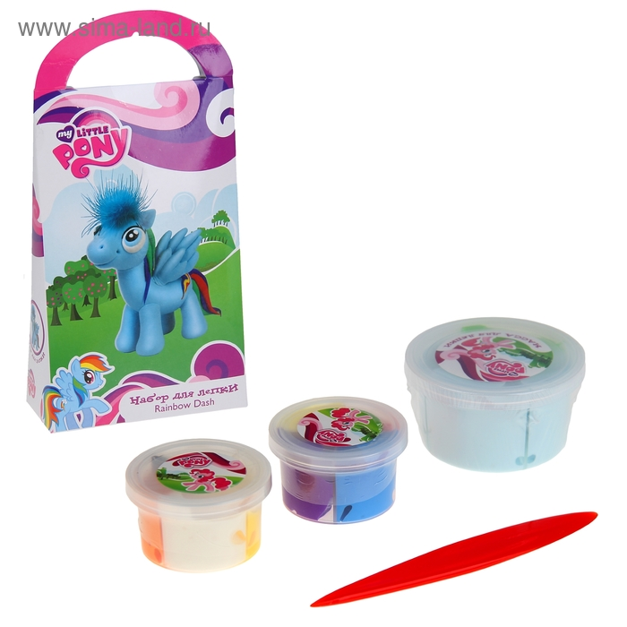 "Набор для лепки ""My Little Pony. Радуга"""