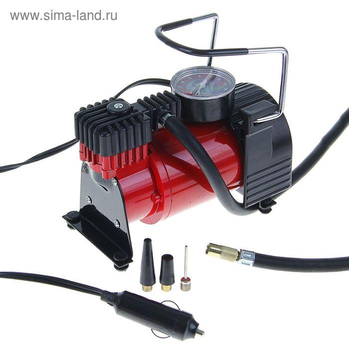 Компрессор автомобильный TORSO TK-118, 15 А, 35 л/мин, провод 3 м, шланг 1 м