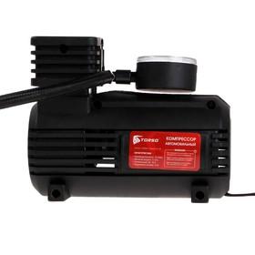 Compressor automotive TK-102, 10 And 15 l/min, the wire 3 m, hose 45cm, black