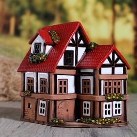 """Oil burner House """"Hans"""", 15 cm, handmade, mixed"""