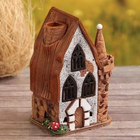 """Oil burner House """"Ivanhoe"""", 17 cm, handmade, mixed"""