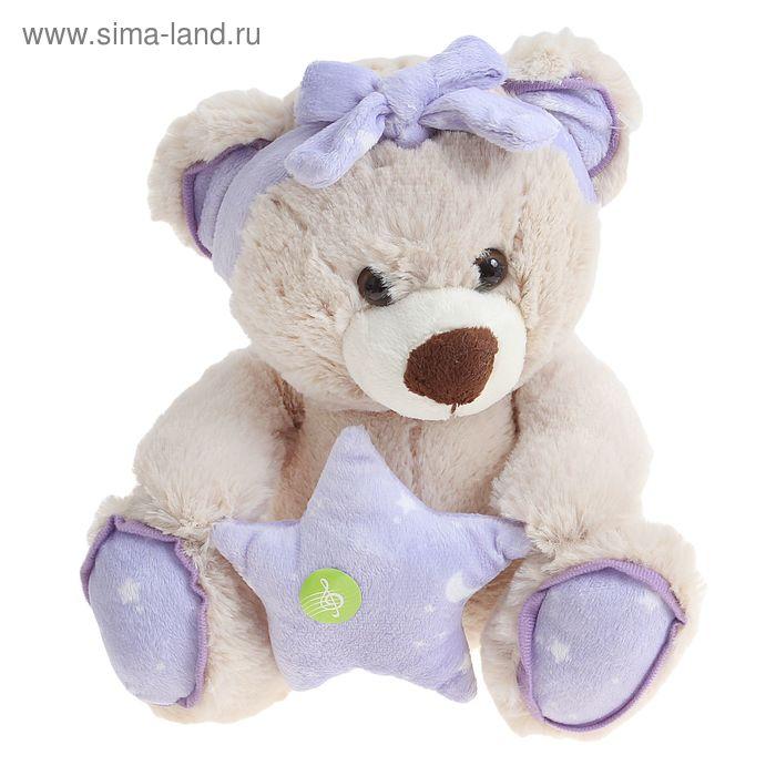 Медведь со звёздочкой «Я спою колыбельную»