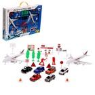 Игровой набор с инерционным транспортом «Аэропорт» - фото 76279182