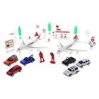 Игровой набор с инерционным транспортом «Аэропорт» - фото 105641255