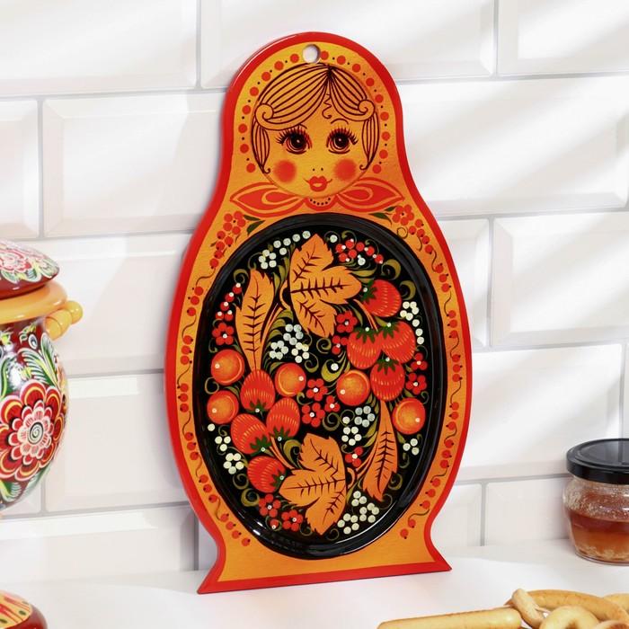 Сухарница «Марёшка», хохлома, 31,5 х 18 см