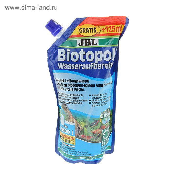 Препарат для подготовки воды JBL Biotopol с 6-кратным эффектом в экономичной упаковке 625 мл