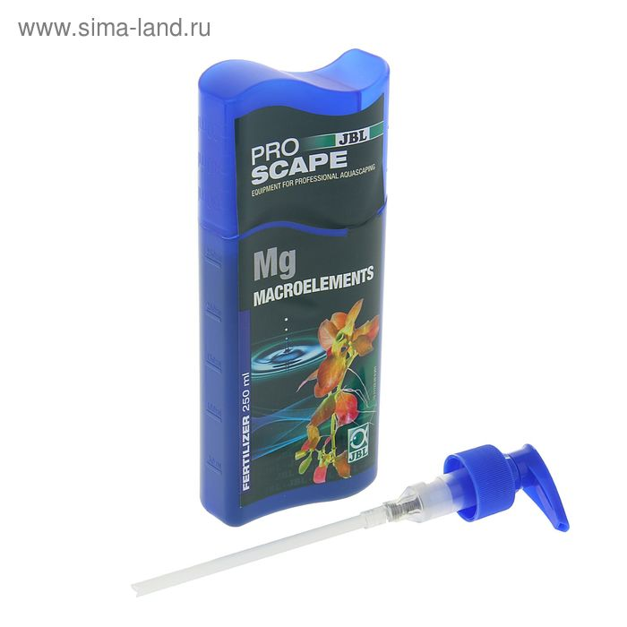 Магниевое удобрение JBL ProScape Mg Macroelements для аквариумных растений, 250 мл