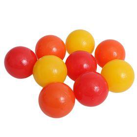 Шарики для сухого бассейна 'Солнечные' с рисунком, диаметр шара 7,5 см, набор 9 шт. Ош