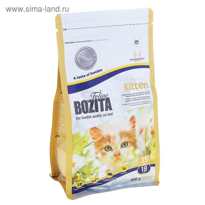 Сухой корм для котят BOZITA Feline Funktion 400 гр