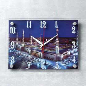 """Часы настенные, серия: Город, """"Мекка"""", 25х35  см, микс"""