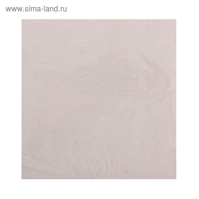 Салфетки Nega 90 листов 1 сл бледно-розовые