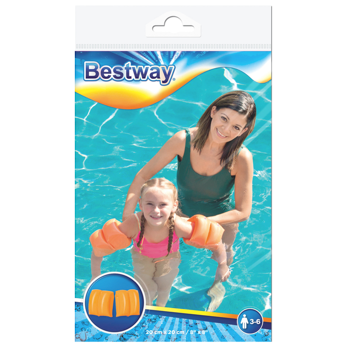 Нарукавники для плавания, 20 х 20 см, 3-6 лет, цвет МИКС