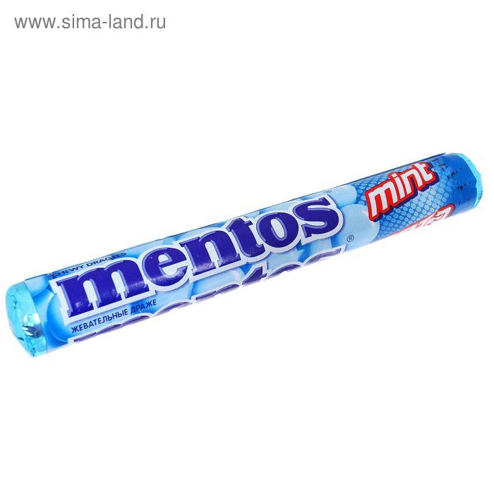 Жевательная конфета Mentos, мята, 37 г