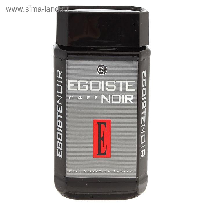 Кофе Egoist Noir, натуральный растворимый, сублимированный, 100 г