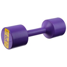 Гантель 8 кг  цвет  МИКС