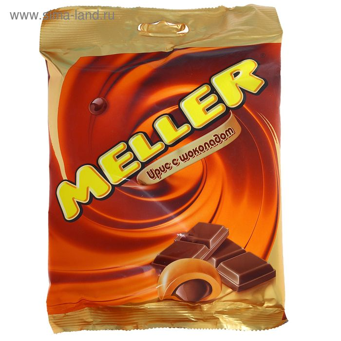 Жевательная конфета Meller, шоколад, 100 г