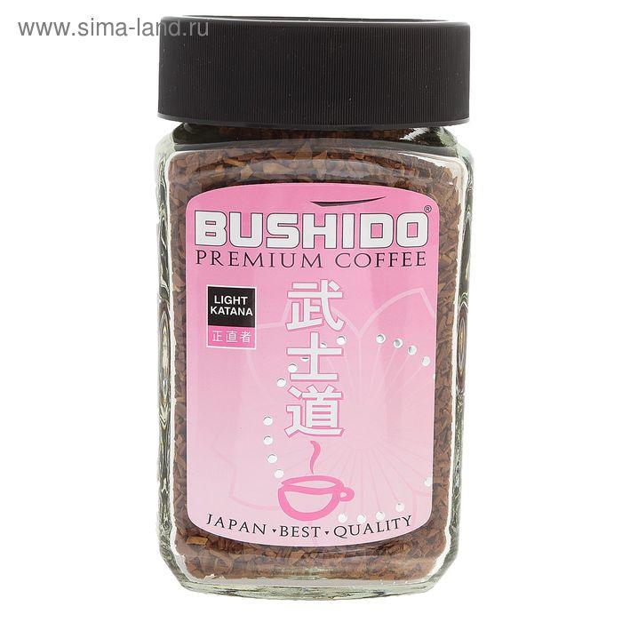Кофе Bushido Light Katana, натуральный растворимый, сублимированный, 100 г