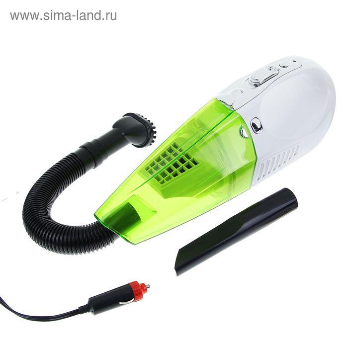 Пылесос автомобильный TORSO, TK-128, 5 А, 60 Вт, провод 3 м, фонарик LED, 12 В