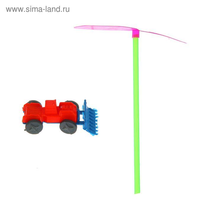 Вертушка с машинкой, цвета МИКС
