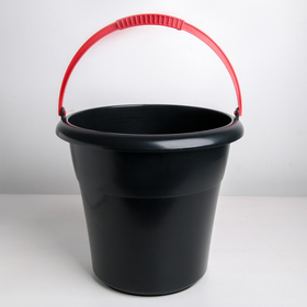Ведро хозяйственное, особо прочное «Евро», 12 л, цвет МИКС
