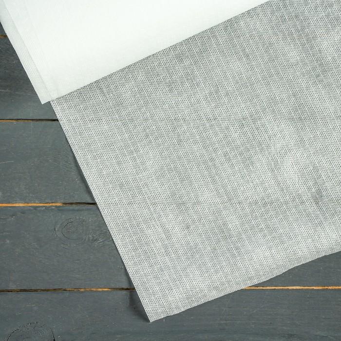 Материал укрывной, армированный, 5 × 3 м, плотность 60, с УФ-стабилизатором, белый, «Агротекс»