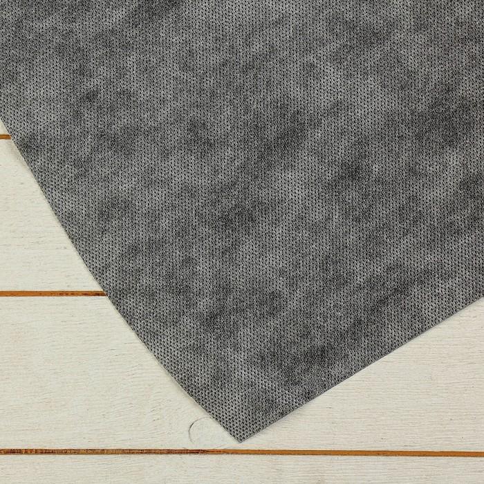 Материал мульчирующий, 5 × 1,6 м, плотность 80, с УФ-стабилизатором, без перфорации, бело-чёрный, «Агротекс»