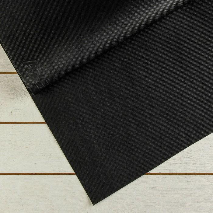 Материал для ландшафтных работ, 12 × 1,6 м, плотность 120, с УФ-стабилизатором, чёрный, «Агротекс»