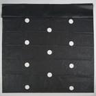 Материал мульчирующий, 10 х 1.6 м, плотность 60 г/м², перфорированный, УФ, чёрный