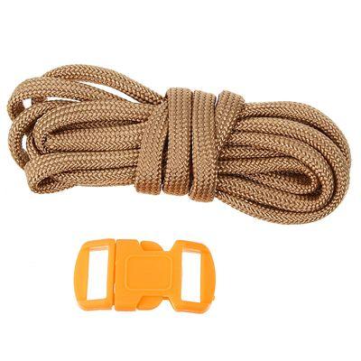 Набор плетения из тесьмы + 2 крепления, длина 1 шт. — 1,2 м, цвет бежевый