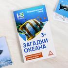 """Обучающие карточки """"Животные океана"""""""