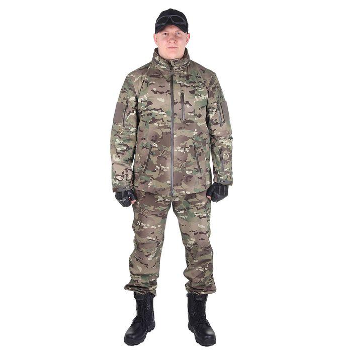 Костюм для спецназа влагозащитный МПА-25 (тк. курт. мембр.) мультикам(54/4)
