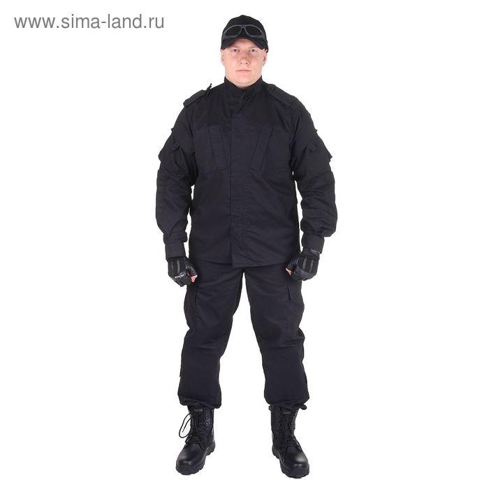 Костюм для спецназа летний МПА-04 (НАТО-1) черный (тк. Мираж-210) (50/5)