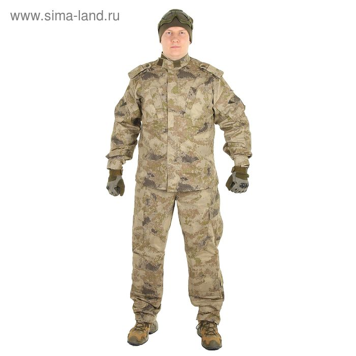 Костюм для спецназа летний МПА-04 (НАТО-1) КМФ песок тк. Мираж (54/5)