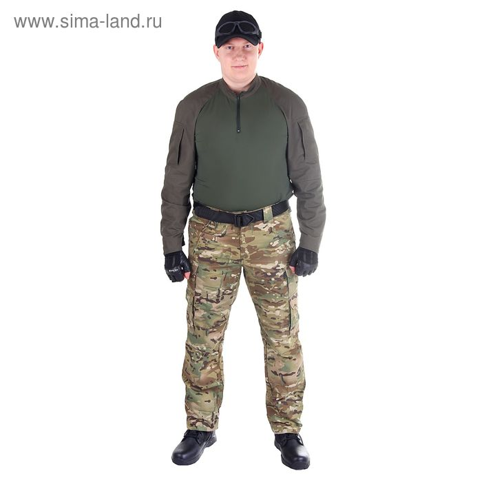 Брюки для спецназа МПА-41 (тк.Софтшелл) КМФ мультикам (50/5)