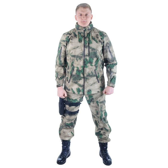 Костюм для спецназа влагозащитный МПА-25 (тк. курт мемб.) мох (56/5)