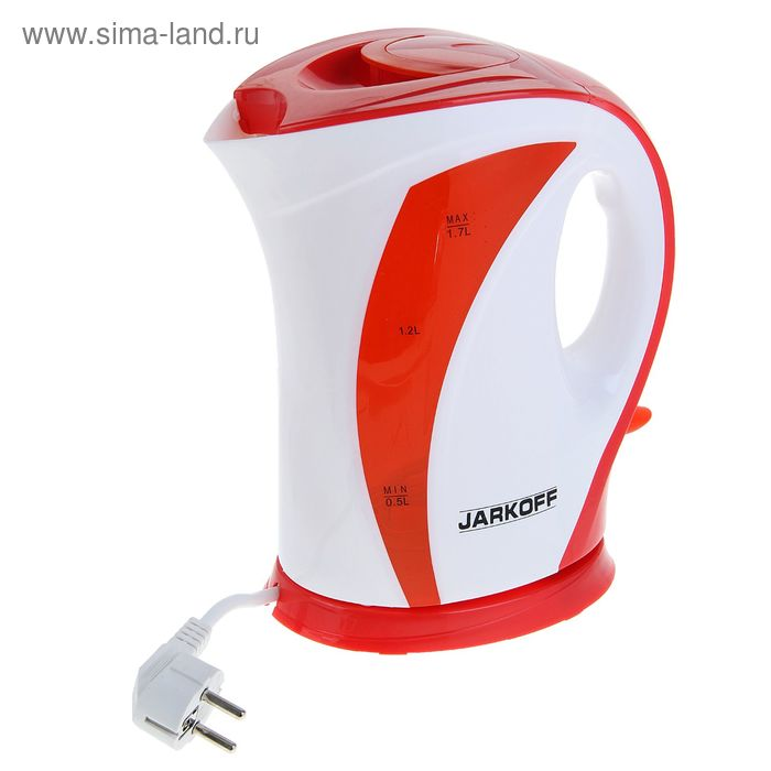 Чайник электрический Jarkoff JK-918R, 1.7 л, 2200 Вт