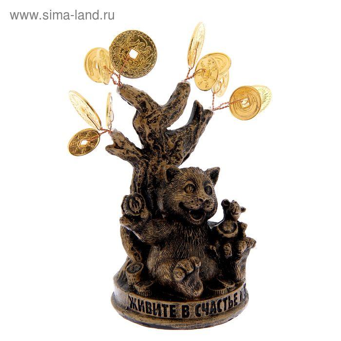 """Денежное дерево """"Живите в счастье и богатстве"""""""