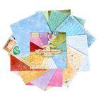 Набор бумаги для скрапбукинга «Вдохновение», 12 листов, 30,5 х 30,5 см