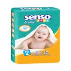 Подгузники «Senso baby» Ecoline, Mini, 3-6 кг, 52 шт/уп