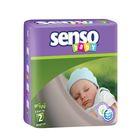 Подгузники «Senso baby» Mini, 3-6 кг, 80 шт/уп