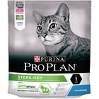 Сухой корм PRO PLAN для стерилизованных кошек, кролик, 400 г