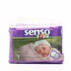 Подгузники «Senso baby» Mini, 3-6 кг, 26 шт/уп