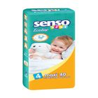 Подгузники «Senso baby» Ecoline, Maxi, 7-18 кг, 40 шт/уп