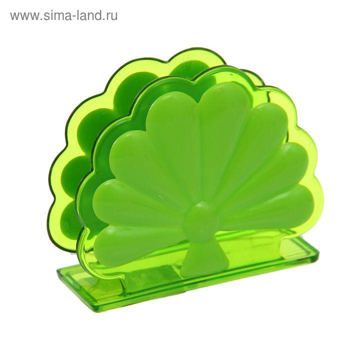 "Салфетница ""Жар-птица"", цвет зеленый"